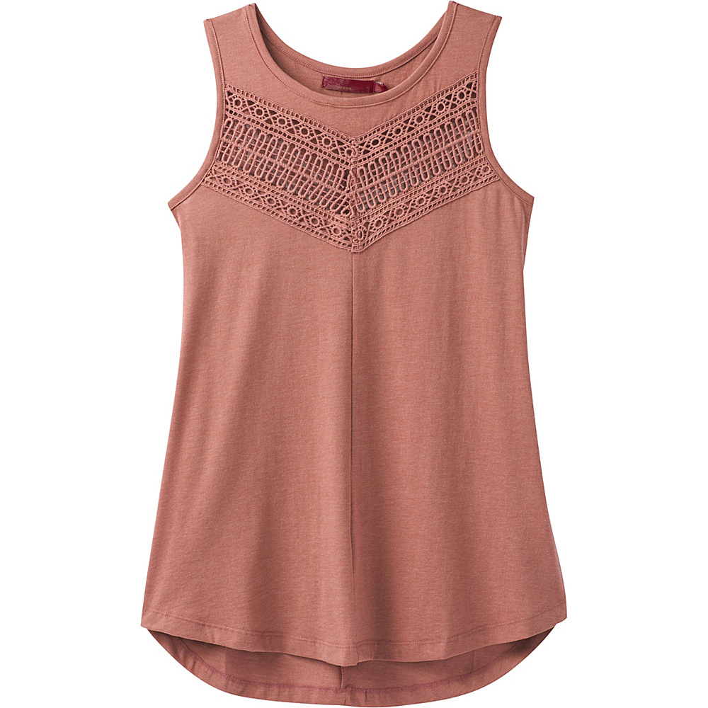 PrAna Petra Swing Top M - Lacquered Rose - PrAna Womens Apparel - Apparel & Footwear, Women's Apparel