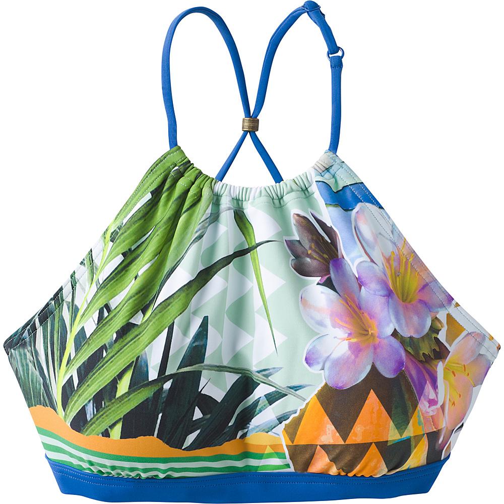 PrAna Brina Swim Top S - Bluegrass Paradise - PrAna Womens Apparel - Apparel & Footwear, Women's Apparel
