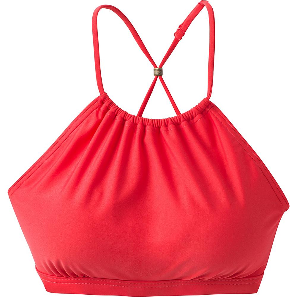 PrAna Brina Swim Top XS - Carmine Pink - PrAna Womens Apparel - Apparel & Footwear, Women's Apparel