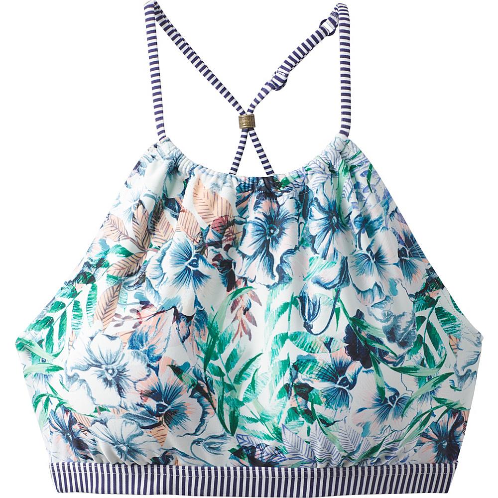 PrAna Brina Swim Top XL - White Bali - PrAna Womens Apparel - Apparel & Footwear, Women's Apparel