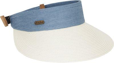 Sun 'N' Sand Visor A-Ivory - Sun 'N' Sand Hats/Gloves/Scarves
