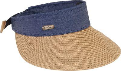 Sun 'N' Sand Visor Tan - Sun 'N' Sand Hats/Gloves/Scarves