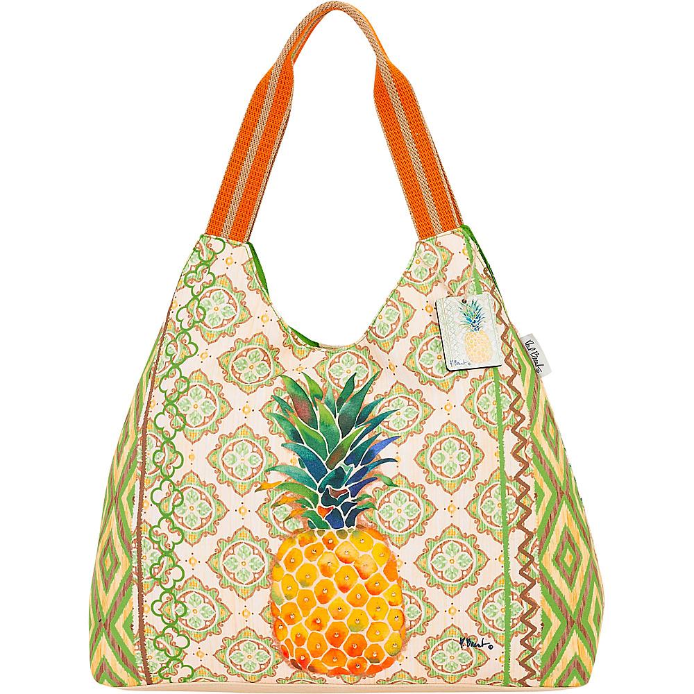 Sun N Sand Paul Brent Artistic Canvas Hobo Pineapple - Sun N Sand Gym Bags - Sports, Gym Bags