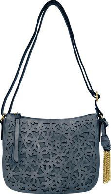 Bueno Cut Out Flower Crossbody Denim - Bueno Leather Handbags