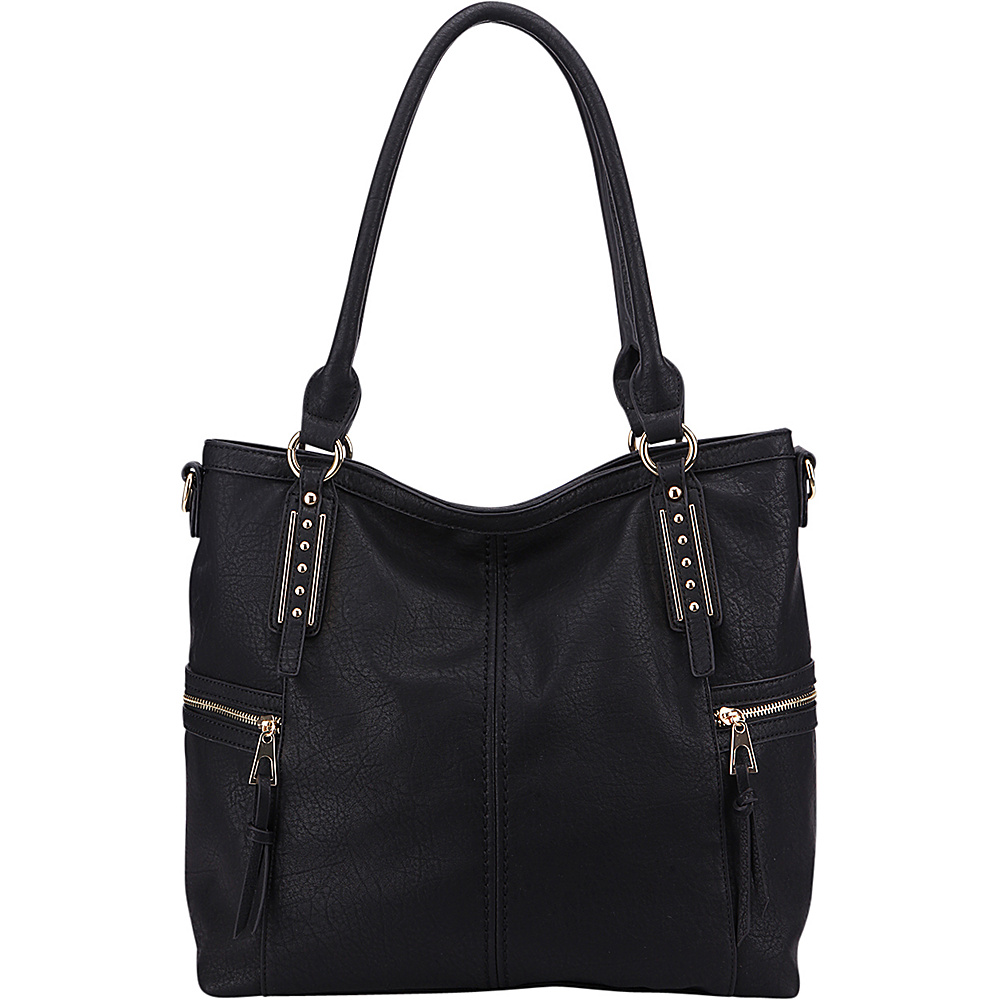 MKF Collection The Perfect Tote Black - MKF Collection Manmade Handbags - Handbags, Manmade Handbags
