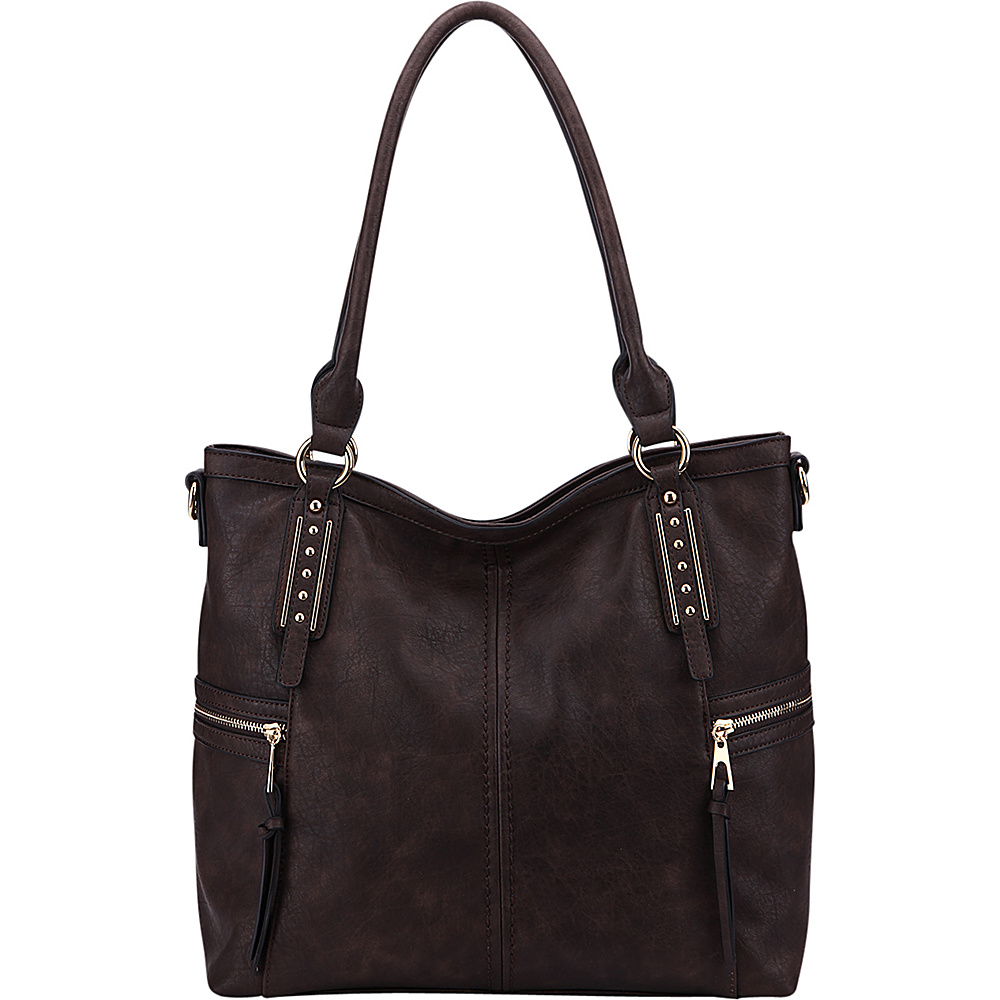 MKF Collection The Perfect Tote Coffee - MKF Collection Manmade Handbags - Handbags, Manmade Handbags