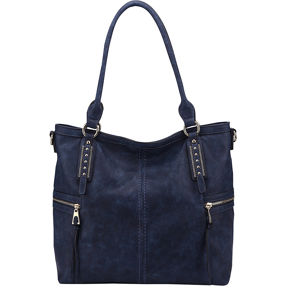 MKF Collection The Perfect Tote Navy - MKF Collection Manmade Handbags - Handbags, Manmade Handbags