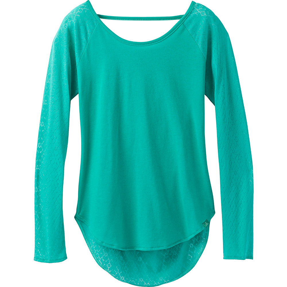 PrAna Salsola Top S - Emerald Waters - PrAna Womens Apparel - Apparel & Footwear, Women's Apparel