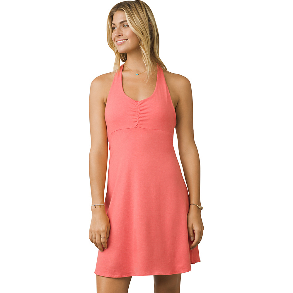 PrAna Beachside Dress XS - Summer Peach - PrAna Womens Apparel - Apparel & Footwear, Women's Apparel