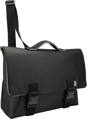 Mad Rabbit Kicking Tiger Kel Briefcase Black Steel - Mad Rabbit Kicking Tiger Messenger Bags