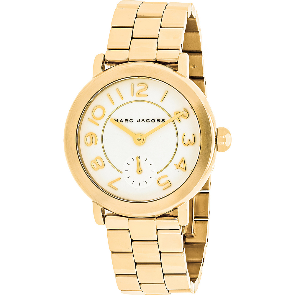 Marc Jacobs Watches Women's Riley Watch White - Marc Jacobs Watches Watches