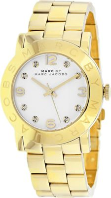 Marc Jacobs Watches Women's Amy Watch White - Marc Jacobs Watches Watches