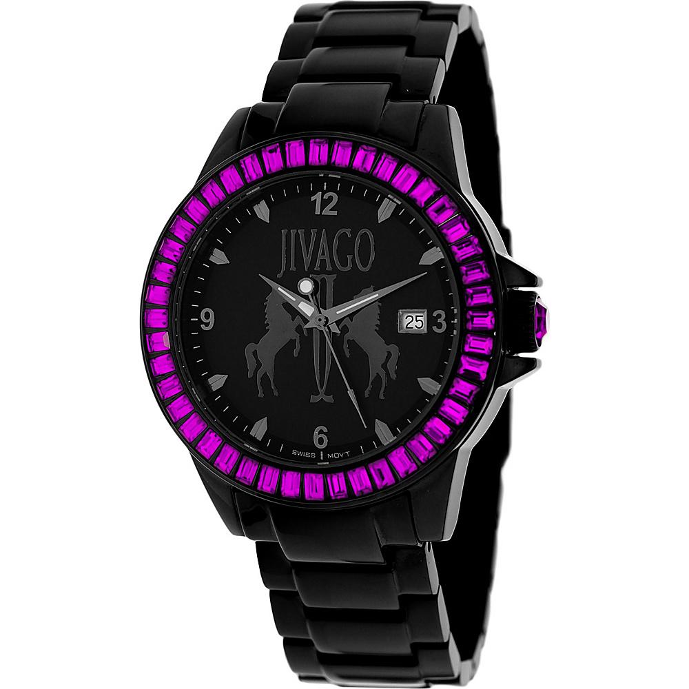 Jivago Watches Women s Folie Watch Black Jivago Watches Watches