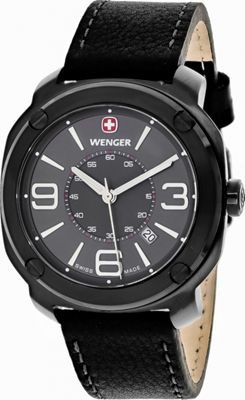 Wenger Watches Men's Escort Watch Grey - Wenger Watches Watches