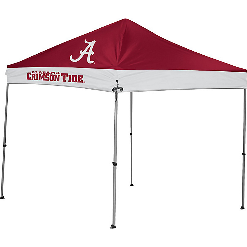 Rawlings Sports NCAA 9x9 Straight Leg Canopy Alabama Rawlings Sports Outdoor Accessories