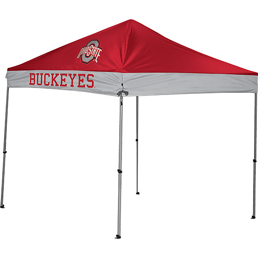 Rawlings Sports NCAA 9x9 Straight Leg Canopy Ohio State Rawlings Sports Outdoor Accessories