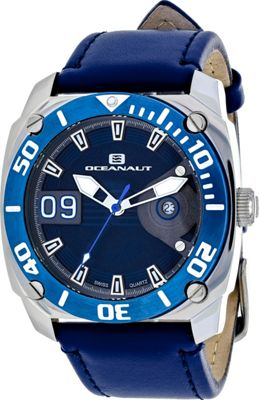 Oceanaut Watches Men's Barletta Watch Blue - Oceanaut Watches Watches
