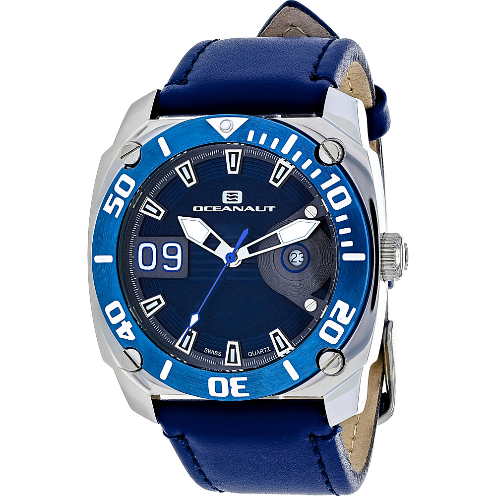 Oceanaut Watches Men s Barletta Watch Blue Oceanaut Watches Watches