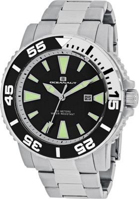 Oceanaut Watches Men's Marletta Watch Black - Oceanaut Watches Watches