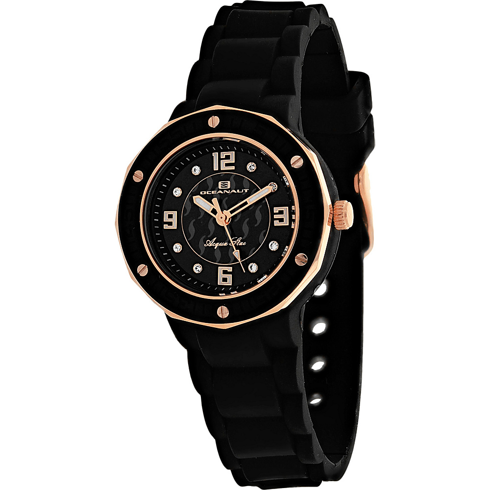 Oceanaut Watches Women s Acqua Star Watch Black Oceanaut Watches Watches