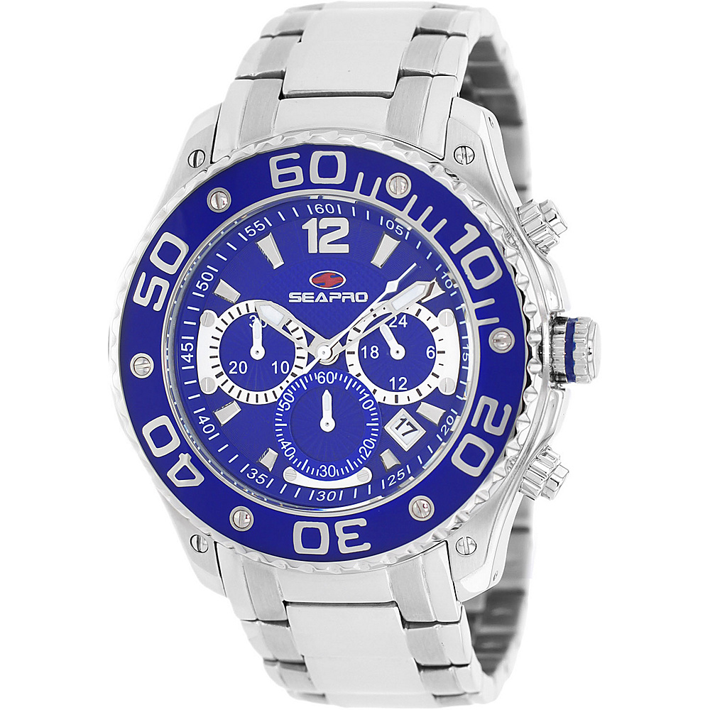 Seapro Watches Men s Dive Watch Blue Seapro Watches Watches