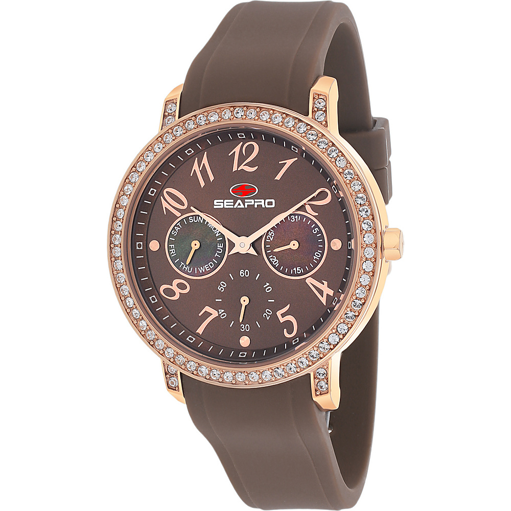 Seapro Watches Women s Swell Watch Brown Seapro Watches Watches