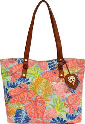 Tommy Bahama Handbags Maui Market Tote Artsy Leaf - Tommy Bahama Handbags Fabric Handbags