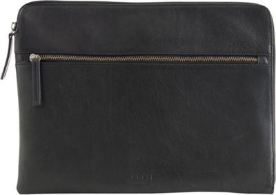 Still Nordic Clean Computer Sleeve Black - Still Nordic Messenger Bags