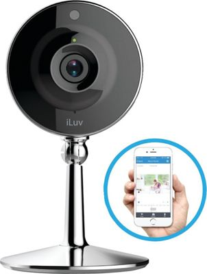 iLuv mySight Home IP Camera with Cloud Storage Black - iLuv Smart Home Automation