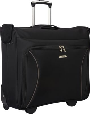 Leisure Luggage Vector 44 inch Wheeled Garment Bag Black - Leisure Luggage Garment Bags