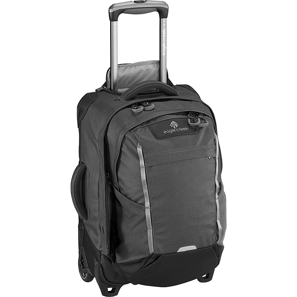 Eagle Creek Switchback International Carry-On Asphalt Black - Eagle Creek Softside Carry-On - Luggage, Softside Carry-On