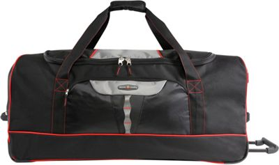 Pacific Coast Extra Large 35 inch Rolling Duffel Bag Black - Pacific Coast Travel Duffels