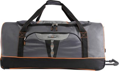 Pacific Coast Extra Large 35 inch Rolling Duffel Bag Grey - Pacific Coast Travel Duffels