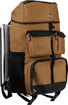 Lencca Logan Luxury Rucksack Backpack Sandstorm Brown - Lencca Laptop Backpacks