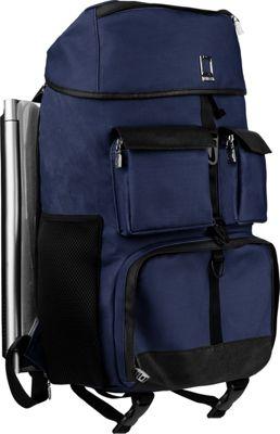 Lencca Logan Luxury Rucksack Backpack Navy Blue - Lencca Laptop Backpacks