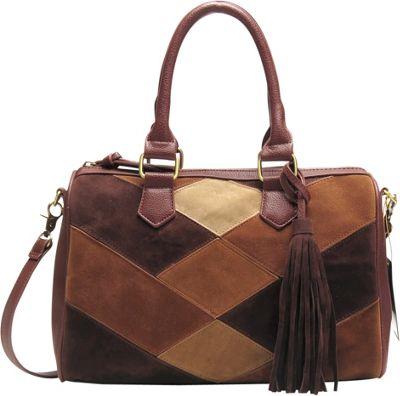 Like Dreams Bella Satchel Brown - Like Dreams Manmade Handbags