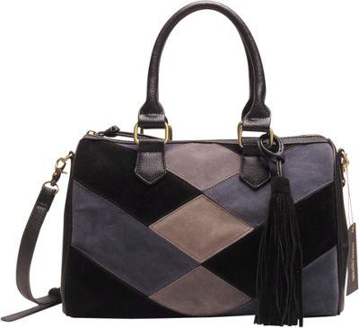 Like Dreams Bella Satchel Black - Like Dreams Manmade Handbags