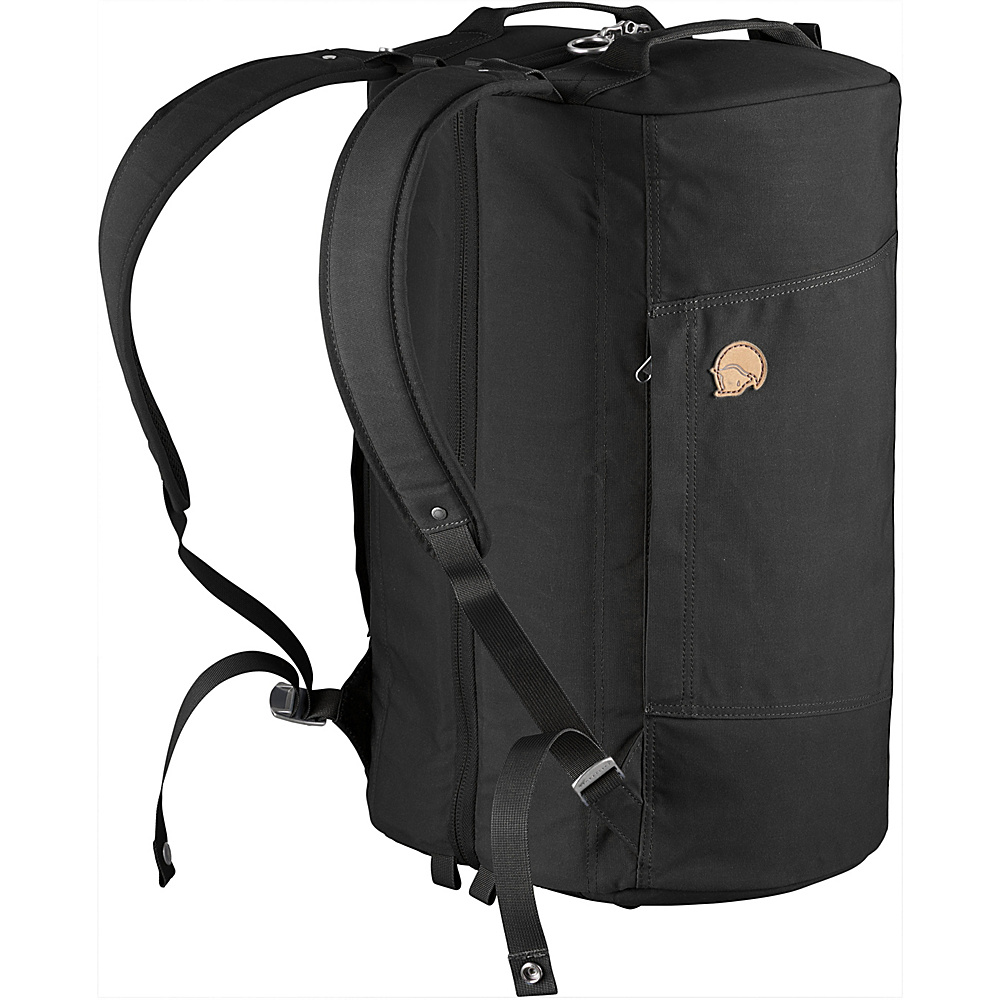 Fjallraven Splitpack Duffel Black - Fjallraven Travel Duffels - Duffels, Travel Duffels