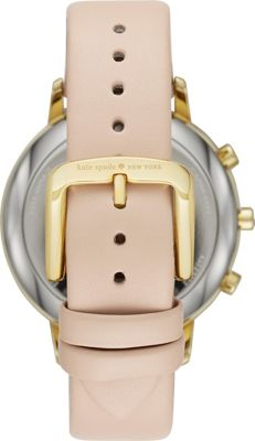 kate spade watches Metro Grand Hybrid Tan/Gold - kate spade watches Wearable Technology