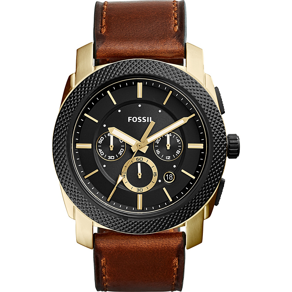 Fossil Machine Chronograph Watch Brown - Fossil Watches - Fashion Accessories, Watches