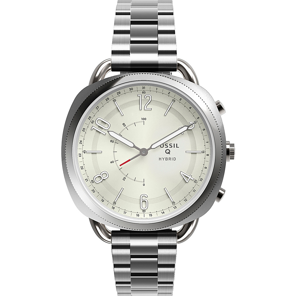 Fossil Q Accomplice Hybrid Smartwatch Silver - Fossil Wearable Technology