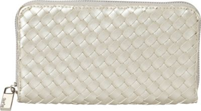 deux lux Haven Zip Wallet Silver - deux lux Women's Wallets