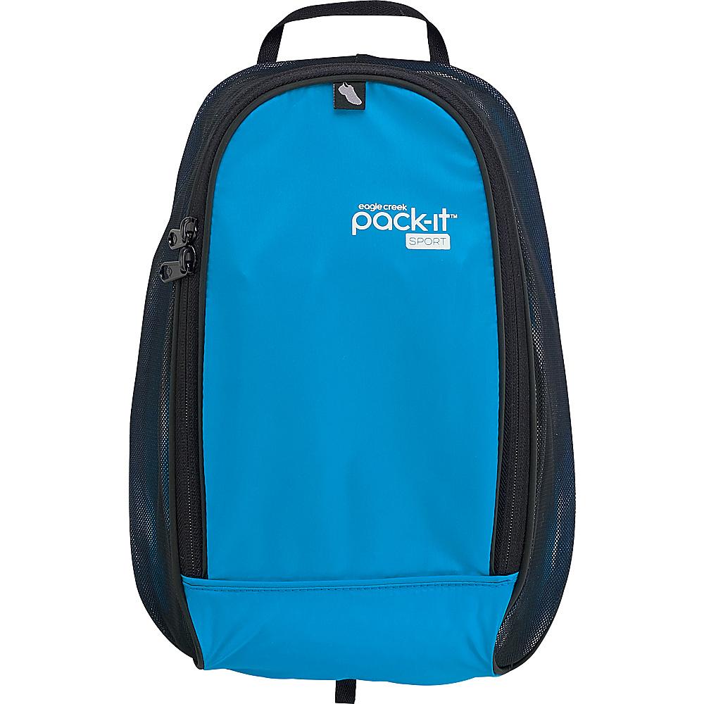 Eagle Creek Pack-It Sport Shoe Locker Blue/Black - Eagle Creek Packing Aids - Travel Accessories, Packing Aids