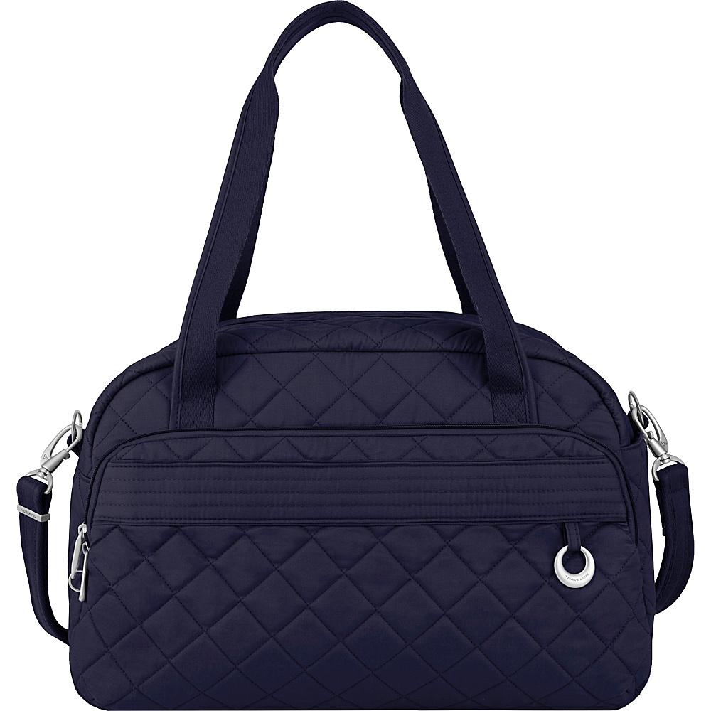 Travelon Anti-Theft Boho Weekender Navy/Leaf Interior - Travelon Luggage Totes and Satchels - Luggage, Luggage Totes and Satchels