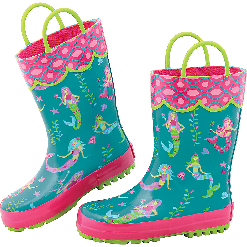 Stephen Joseph Kids Rain Boot 9 (US Toddlers) - Mermaid - Stephen Joseph Womens Footwear - Apparel & Footwear, Women's Footwear