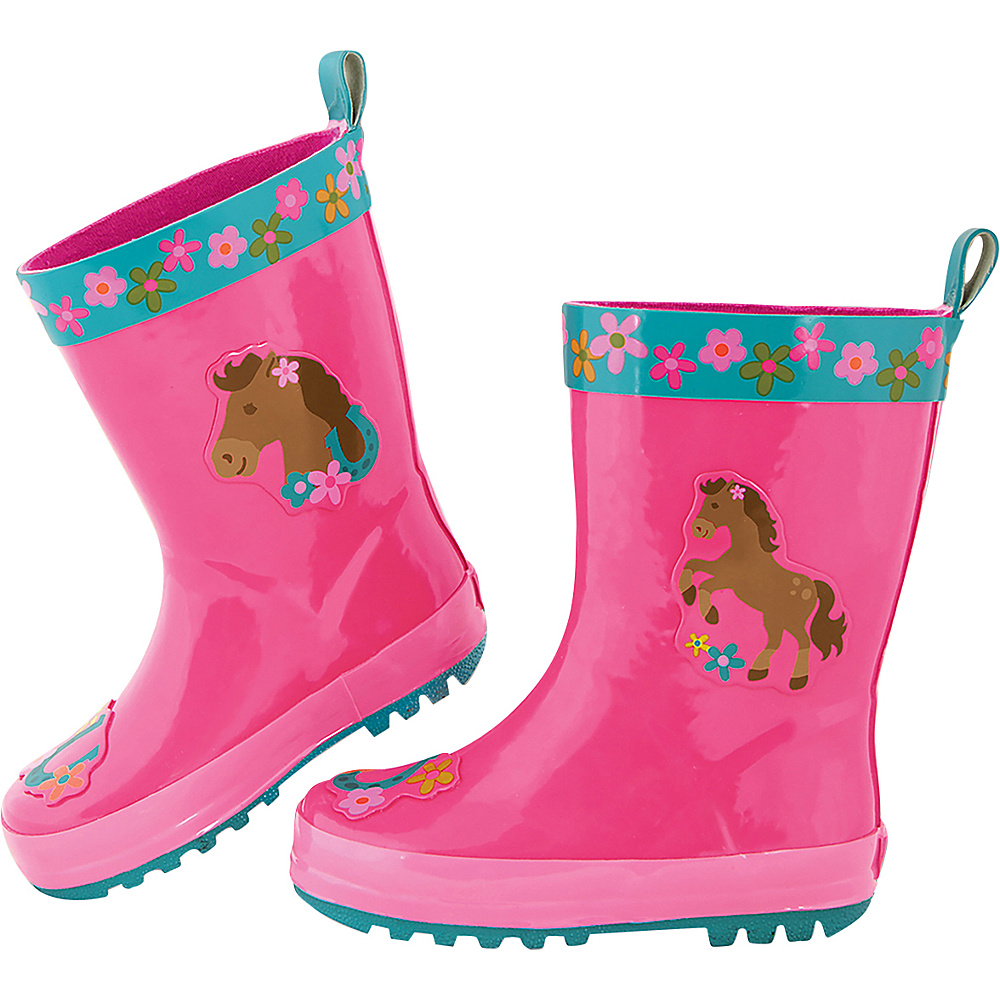 Stephen Joseph Kids Rain Boot 7 (US Toddlers) - Horse - Girl - Stephen Joseph Womens Footwear - Apparel & Footwear, Women's Footwear