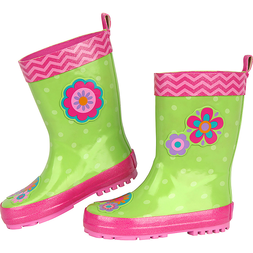 Stephen Joseph Kids Rain Boot 7 (US Toddlers) - Flower - Stephen Joseph Womens Footwear - Apparel & Footwear, Women's Footwear