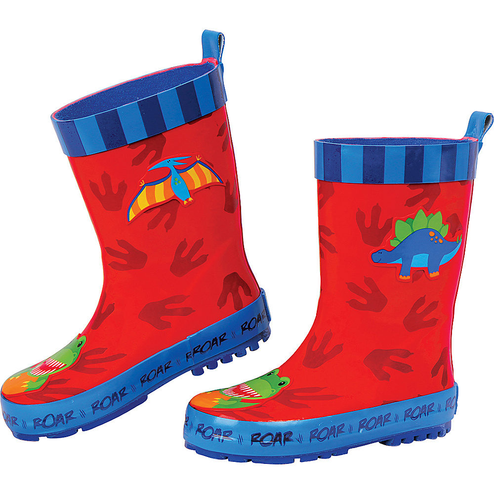 Stephen Joseph Kids Rain Boot 7 (US Toddlers) - Dino - Stephen Joseph Womens Footwear - Apparel & Footwear, Women's Footwear