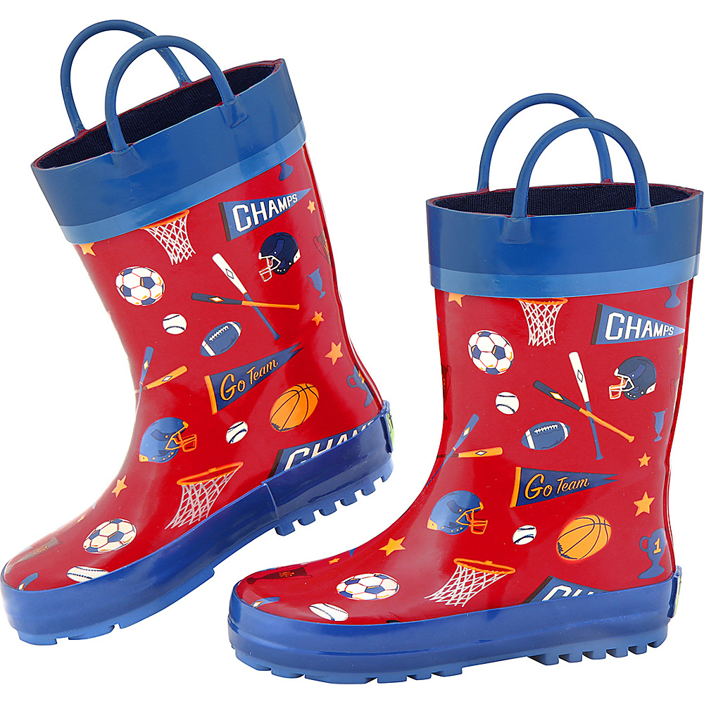 Stephen Joseph Kids Rain Boot 13 (US Kids) - Sports - Stephen Joseph Womens Footwear - Apparel & Footwear, Women's Footwear