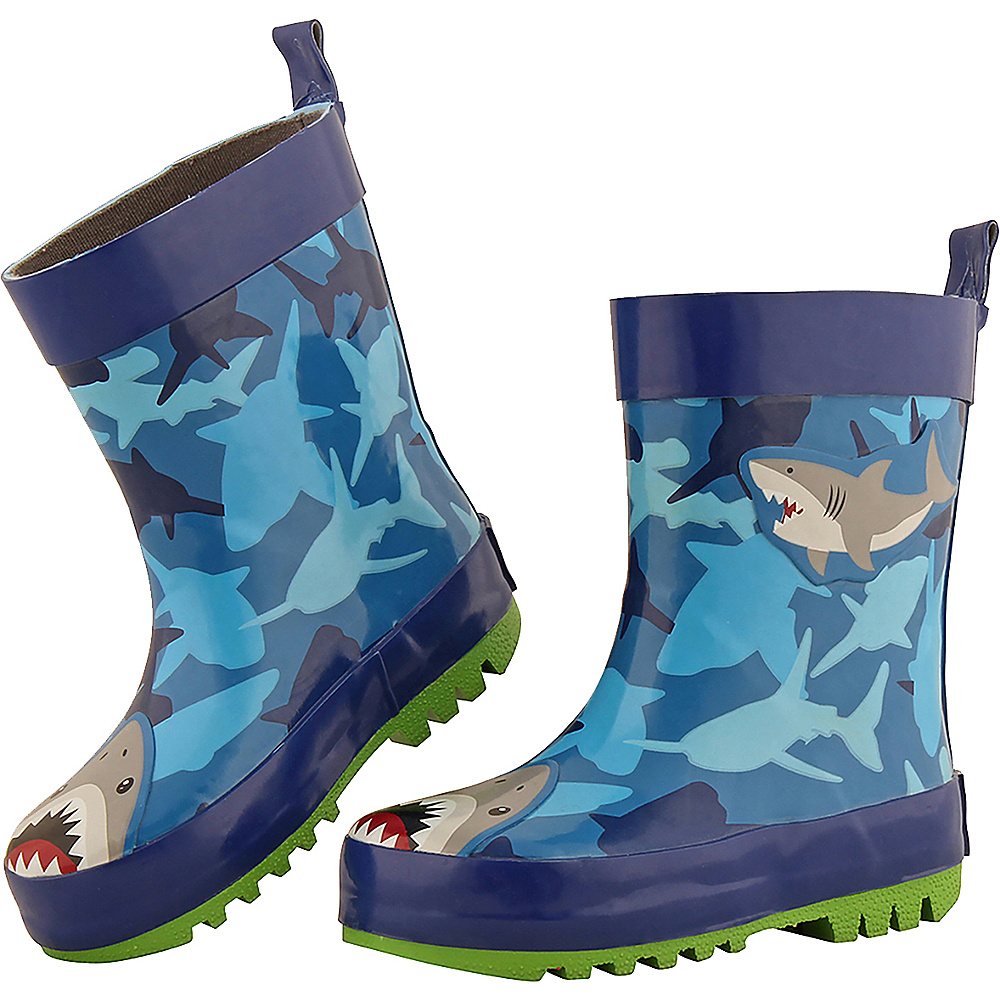 Stephen Joseph Kids Rain Boot Shark - Stephen Joseph Womens Footwear - Apparel & Footwear, Women's Footwear